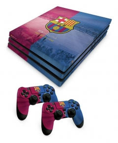 Barcelona FC PS4 Pro Skin Bundle