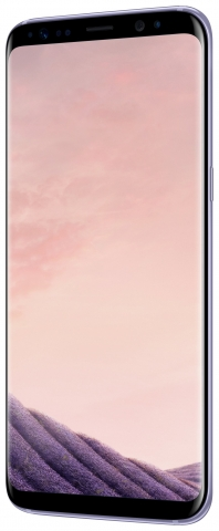Sim Free Samsung Galaxy S8 Mobile Phone - Orchid Grey
