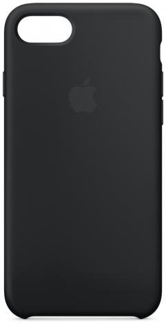 Apple - For - IPhone - 7 Silicone - Case - Black