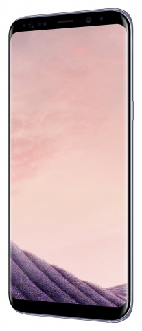 Sim Free Samsung Galaxy S8 Plus Mobile Phone - Orchid Grey