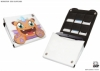 Nintendo - 2DS And 6 Game - Case - Monster