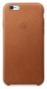 Apple - IPhone - 6/6s Leather - Case - Brown