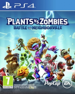 Plants vs Zombies 3 Battle for Neighborville PS4