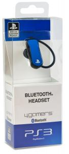 Bluetooth Headset - Blue PS3