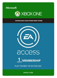 EA 1-Month Access Code Xbox One