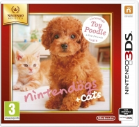 Nintendogs & Cats Toy Poodle 3DS Selects