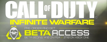 Call of Duty Infinite Warfare Beta Redemption Instructions