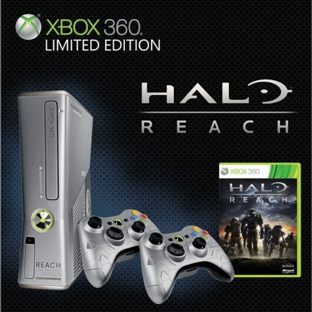 Halo Reach Xbox slim console