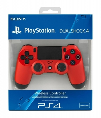 Magma Red DualShock 4 Wireless Controller PS4