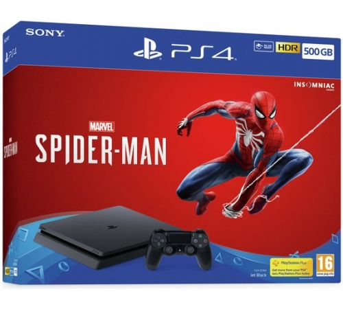 PS4 500GB Marvel's Spider-M