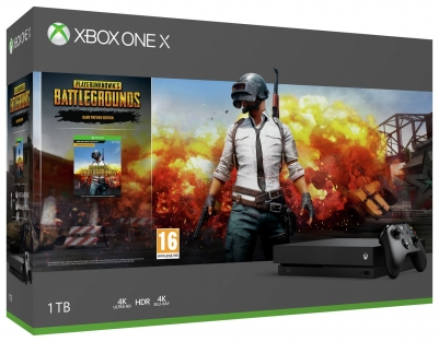 Xbox One X Console With PUBG And One Month Game Pass Bundle