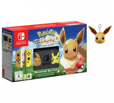 Nintendo Switch & Pokemon Let's Go Eevee! Bundle