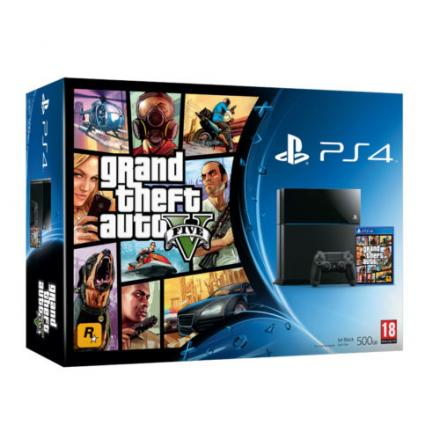 RE PS4 bundle with GTA V