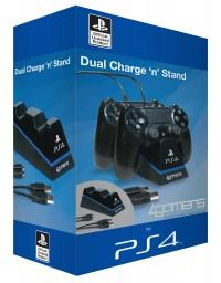 Dual Charge & Stand + USB Cable
