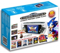 Sega Mega Drive Ultimate Portable Player Console Sonic 25th Anniversary with 80 Retro Games