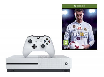Xbox One console with FIFA 18