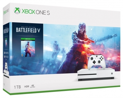 Xbox One S Console with Battlefield V Bundle