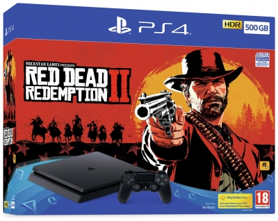 Sony PS4 500GB Console And Red D