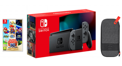Nintendo Switch & Super Mario 3D All-Stars Bundle - Grey