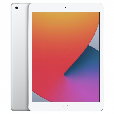 Apple iPad 8th Gen 2020 10.2in Wi-Fi 128GB - Silver