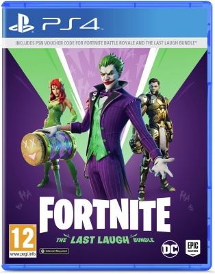 Fortnite: The Last Laugh Bundle Game PS4