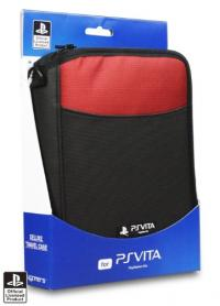 Deluxe Travel Case - Red PS Vita
