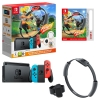 Nintendo Switch Console Blue/Red Ring Fit