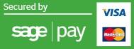 Sage Pay Secure Checkout.