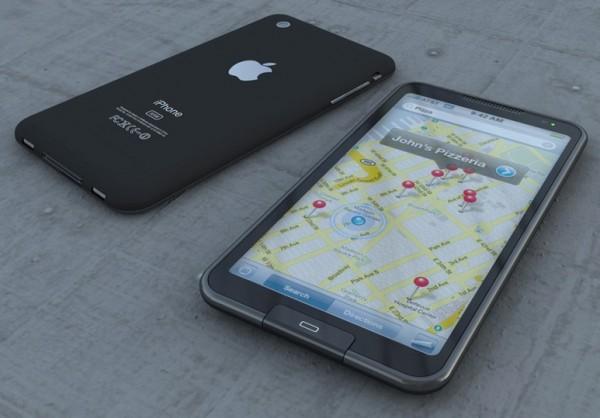 iPhone 5 Maps