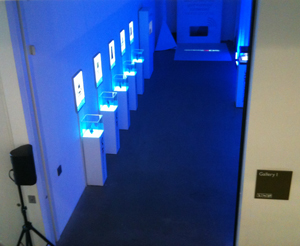 Inside the first room: Nintendo Museum