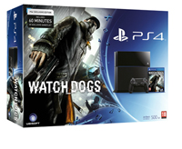 PS4 Watch Dogs Bundle - Large