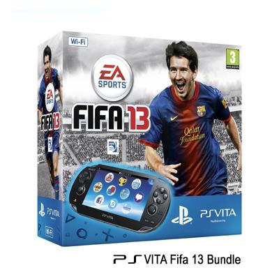FIFA 13 PS Vita Console bundle