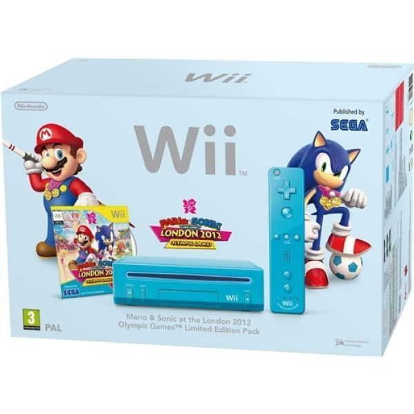 Wii Console - Blue