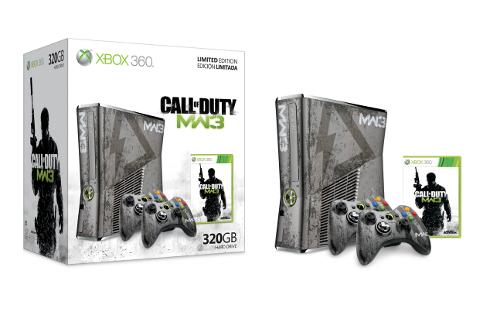 Xbox 360 320gb with Modern Warfare 3 Bundle